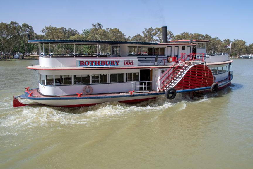 The Rothbury Paddle Boat