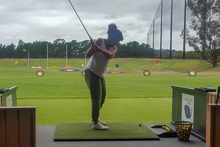 Curlewis Driving Range